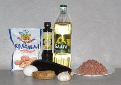 Рецепт Баклажаны с фаршем в кляре