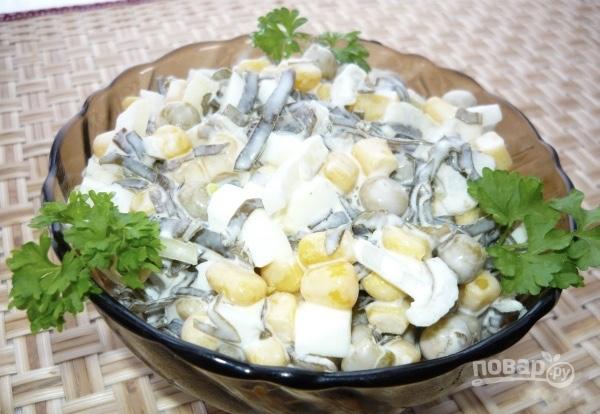 Салат из морской капусты простые и вкусные рецепты