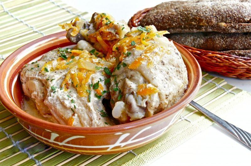 Рецепт курица капуста картошка