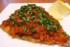 Рыба, жаренная под соусом