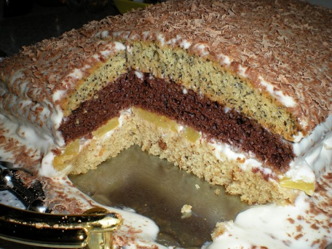 Рецепт торта бедный еврей с пошаговым фото