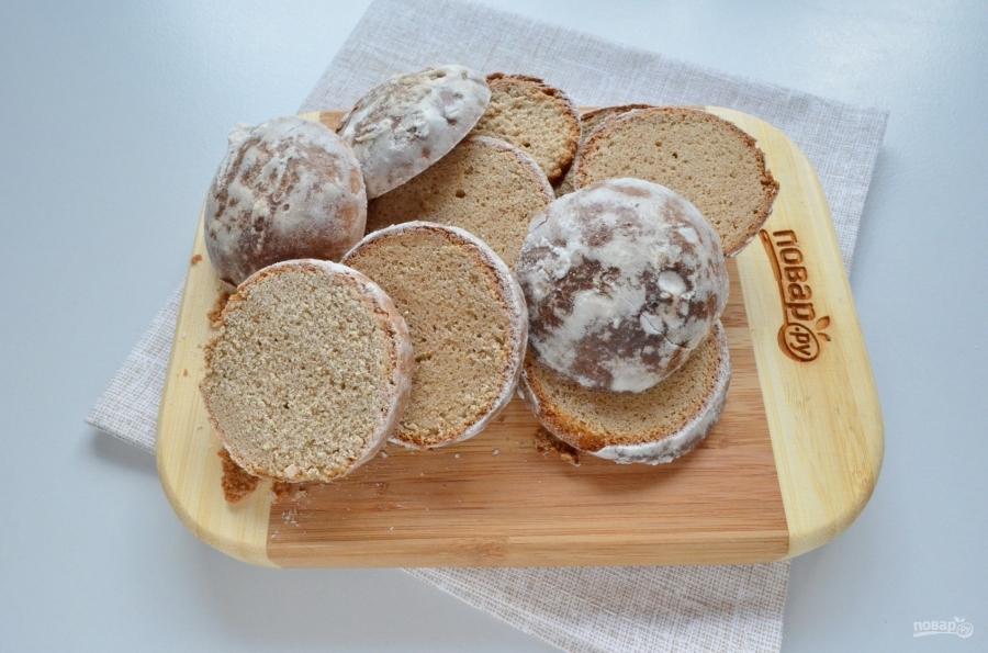 Торт из пряников без выпечки - фото шаг 3