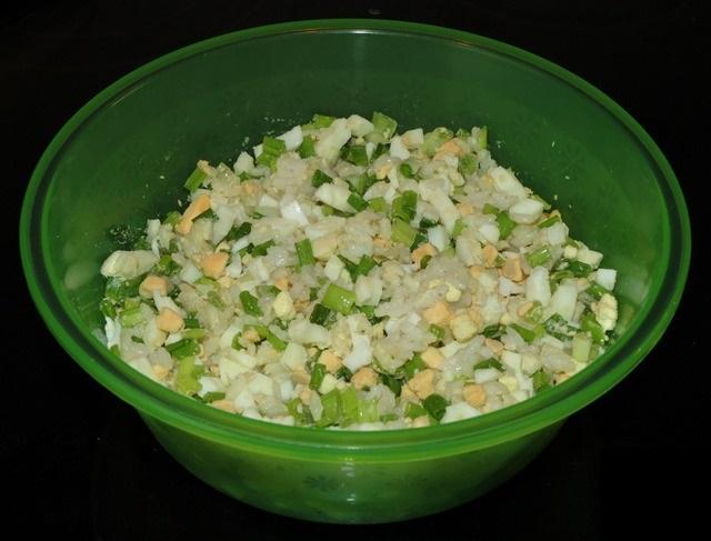 Пирожки с рисом и яйцом - фото шаг 4