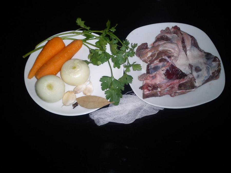 Рецепт Бульон из свинины
