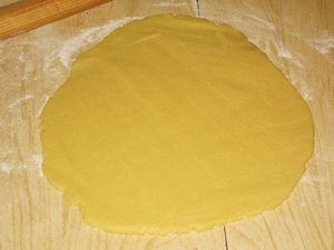 Коржики на маргарине - фото шаг 3