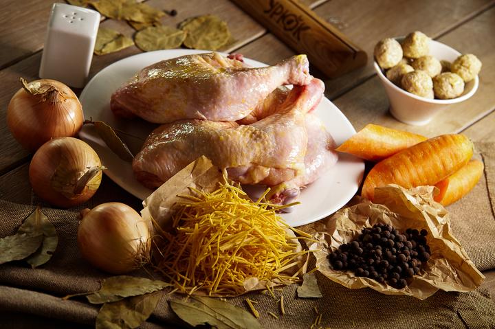 Рецепт Суп с лапшой и фрикадельками