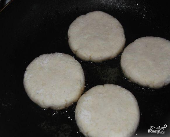 Сырники низкокалорийные - фото шаг 3