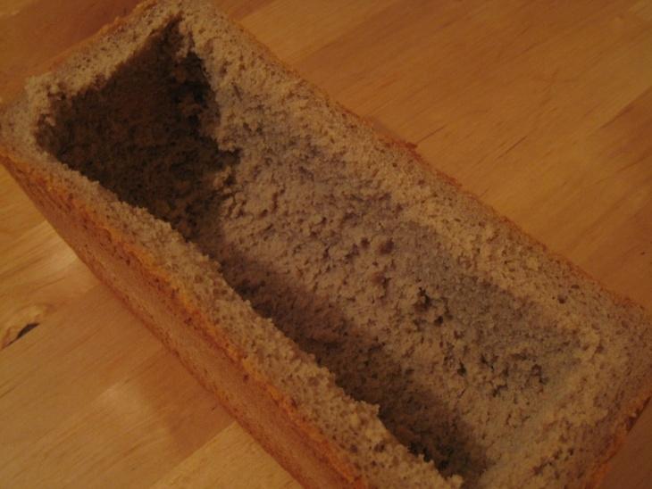 Салат в хлебе - фото шаг 4