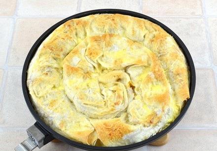 Мясной пирог из лаваша - фото шаг 12