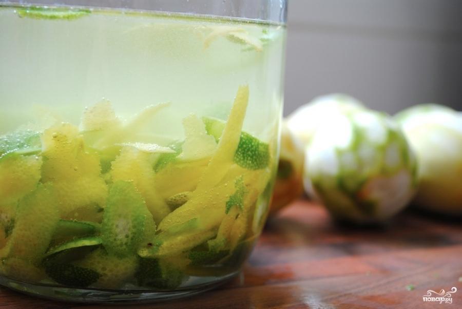 как приготовить лимончелло на водке