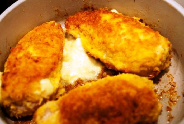 Куриная грудка с сыром - фото шаг 5
