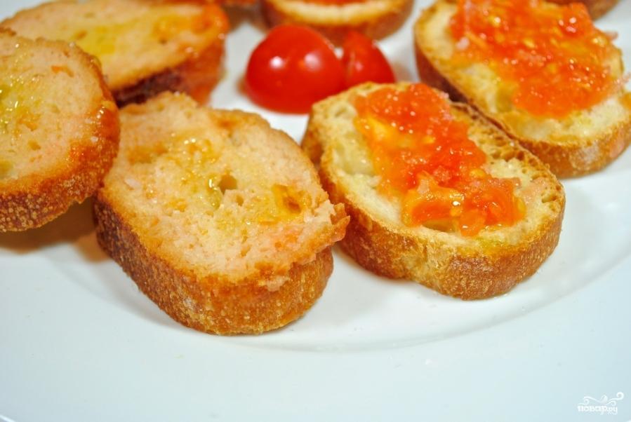 Тосты с помидорами - фото шаг 6