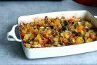 Запеченные овощи на гарнир