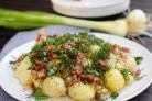 Картошка со шкварками