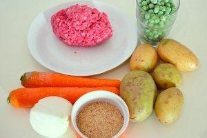 Рецепт Запеканка с фаршем с овощами