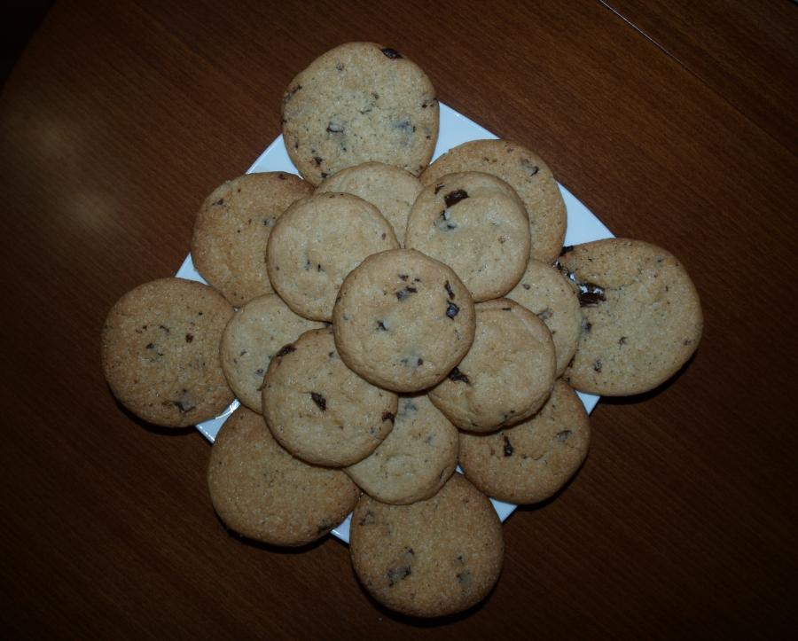American cookies - фото шаг 9