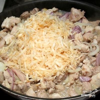 Курица в горшочках с овощами - фото шаг 4