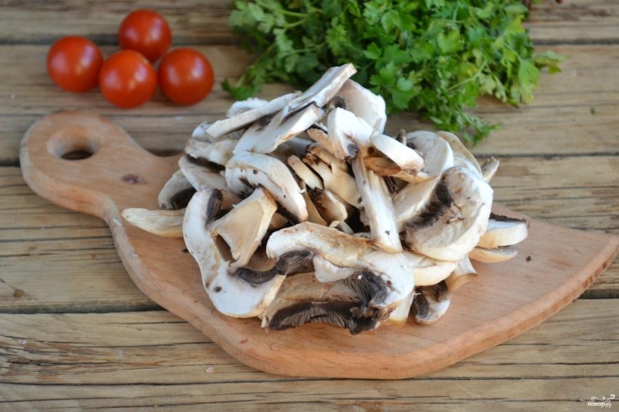 Мясо под грибным соусом - фото шаг 3