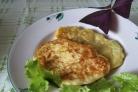 Кабачковые оладьи с сыром