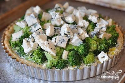 Пирог с брокколи - фото шаг 8