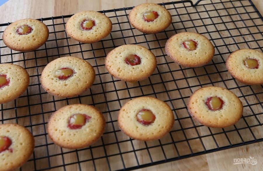 бисквитное печенье мадлен рецепт