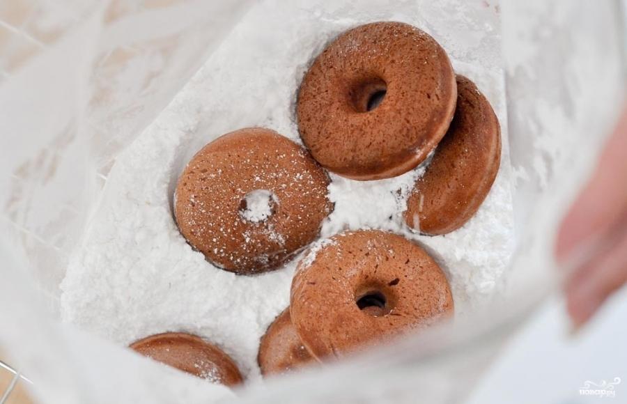 Пончики с сахарной пудрой - фото шаг 3