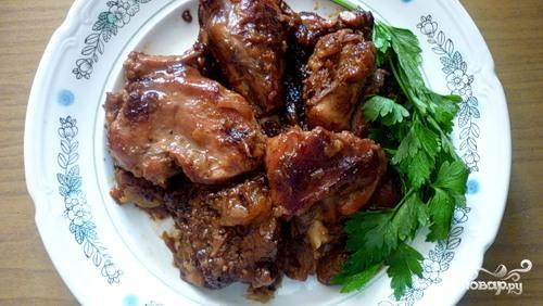 Рецепт Кролик со сливами