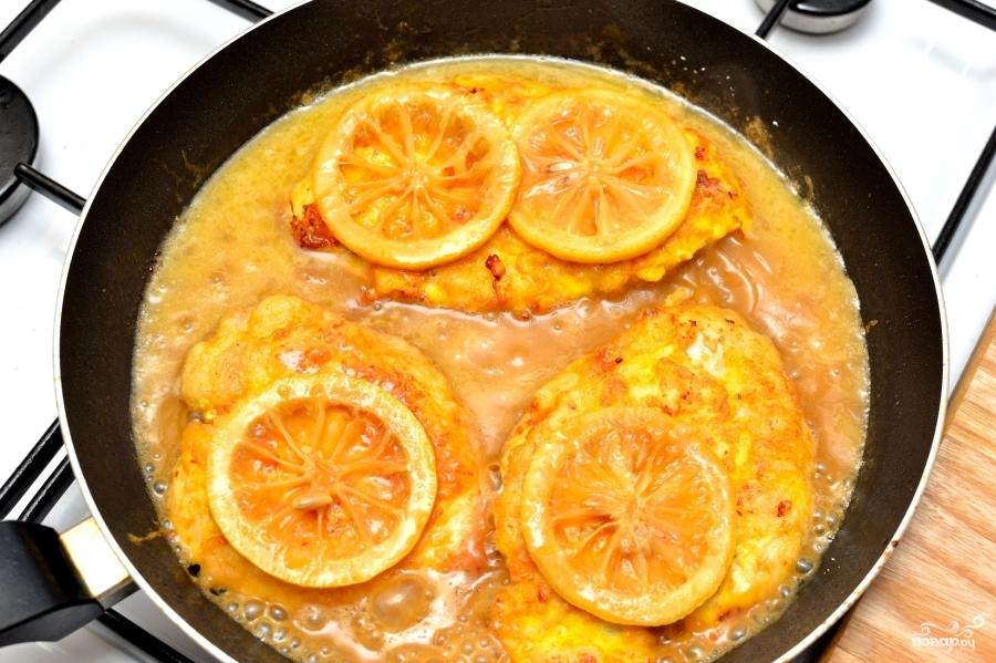 Лимонная курица - фото шаг 7