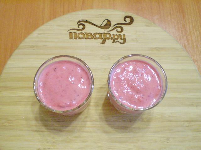 Кефир с ягодами - фото шаг 4