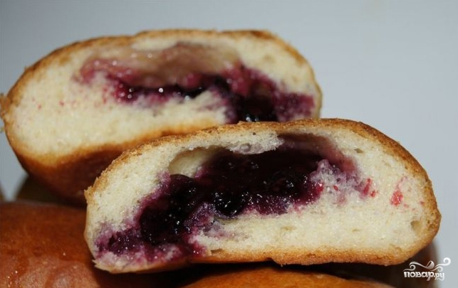 Пирожки с черемухой - фото шаг 5