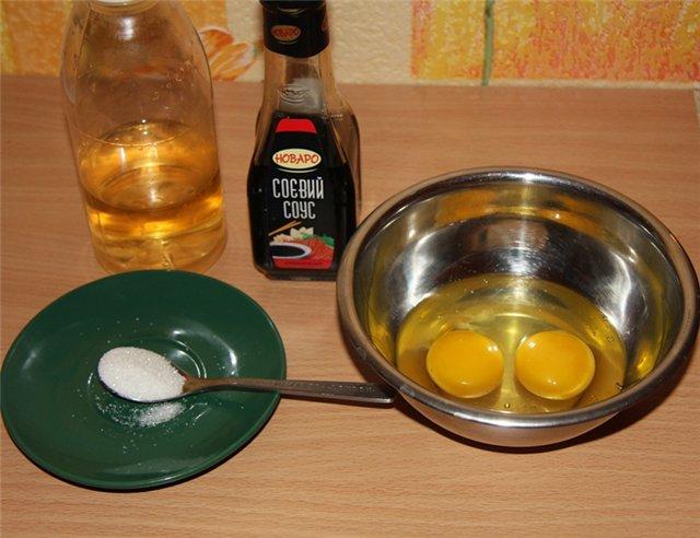 Рецепт Омлет для суши
