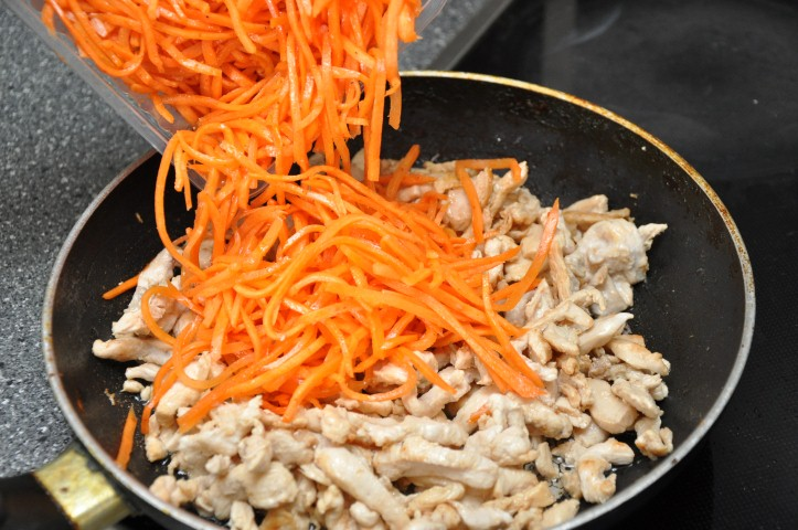 корейский салат хе из курицы рецепт