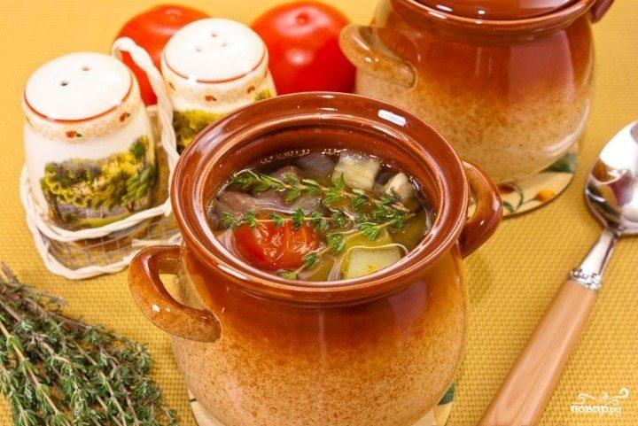 Суп из баранины и овощей