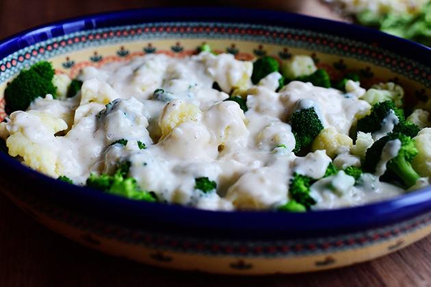 Запеканка из брокколи и цветной капусты - фото шаг 13