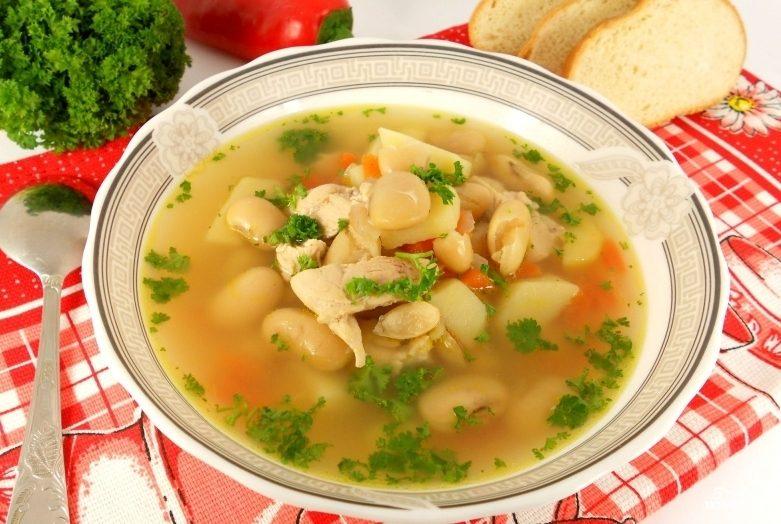 Суп с курицей в мультиварке