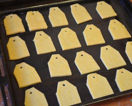 """Печенье """"Чайные пакетики"""" - фото шаг 9"""