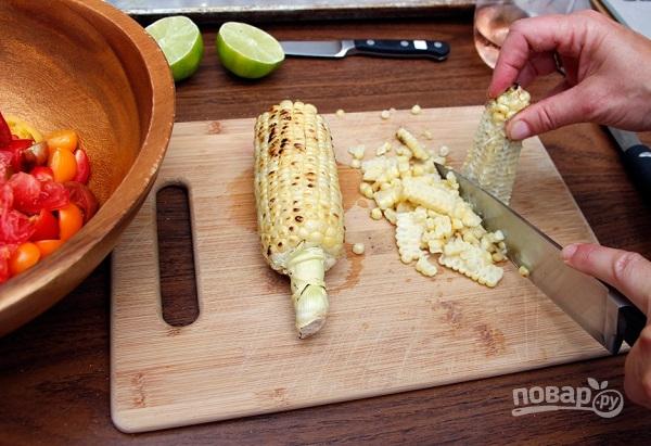 Салат с рукколой - фото шаг 4
