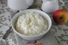 Рисовая каша Размазня на молоке