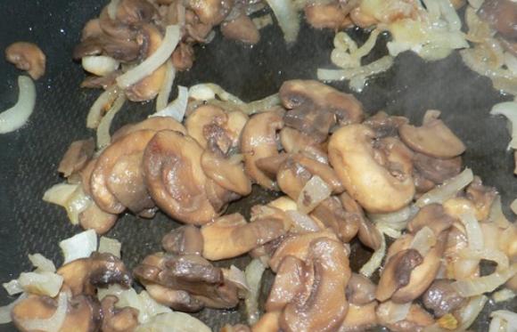 Фасолевый салат с грибами - фото шаг 1