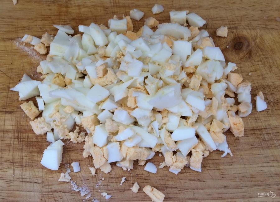 Галеты с сыром - фото шаг 3