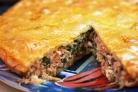 Пирог с копченым лососем