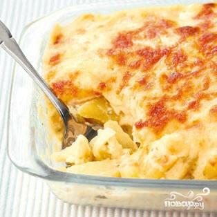 Рецепт Картофель с цветной капустой