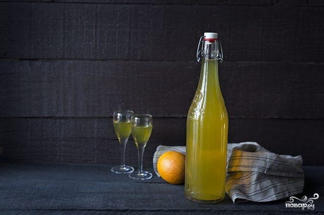 """Апельсиновый ликер """"Куантро"""" в домашних условиях - пошаговый рецепт с фото на Повар.ру"""