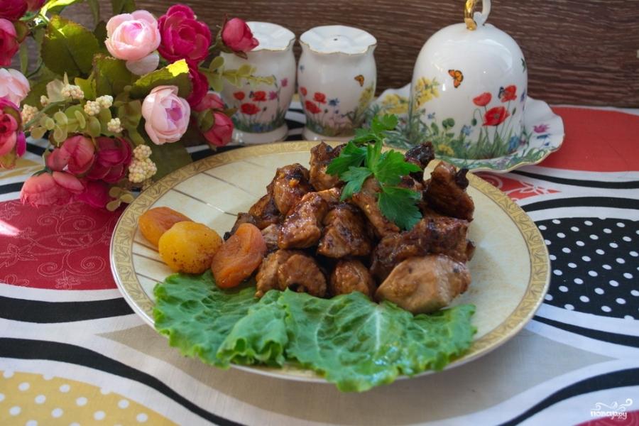 рецепт филе индейки в мультиварке с грибами и