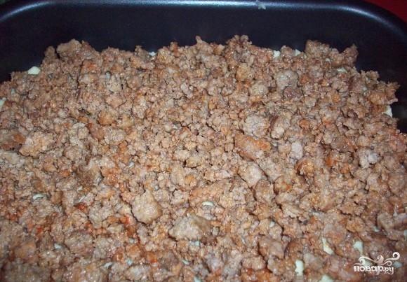Запеканка из картофельного пюре и фарша - фото шаг 3