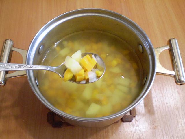 Летний суп из моркови - фото шаг 6