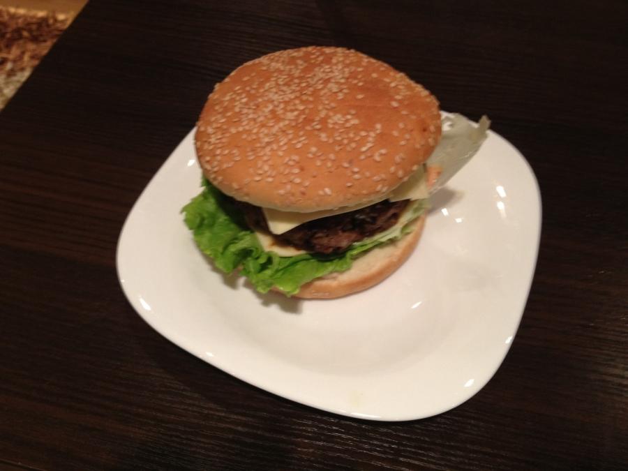 Домашний гамбургер - фото шаг 6