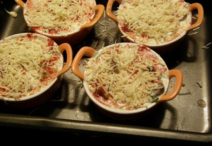 Вегетарианский жульен - фото шаг 8