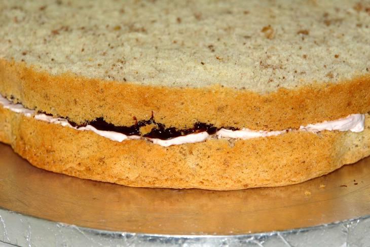 Торт на 18 лет - фото шаг 6