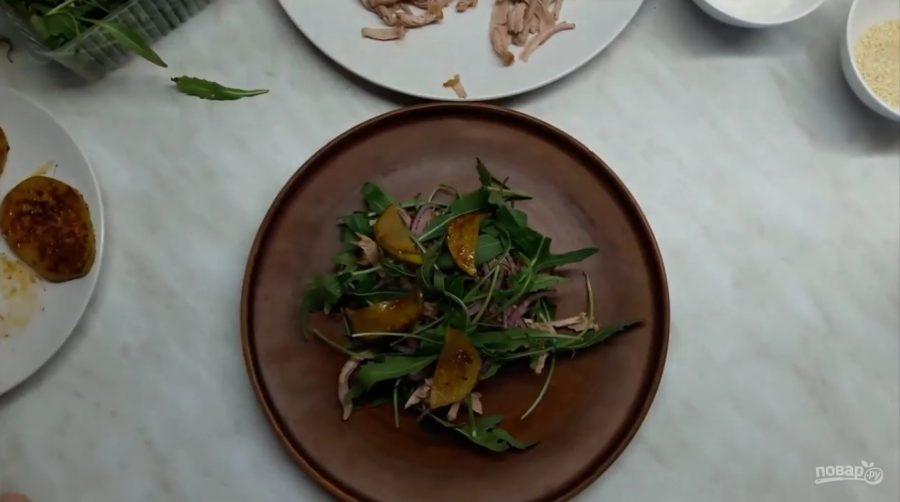салат рецепт с мясом вкусный рецепт